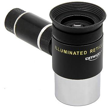 "Teleskop Okular 1,25/"" Seben Fadenkreuzokular Pl/össl 12,5mm Beleuchtung 31,7mm"