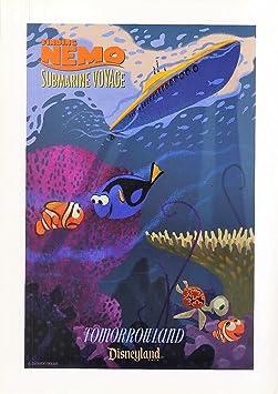 Disneyland Poster Rocket Jets Disney Print Wall Art Tomorrowland Gift UNFRAMED