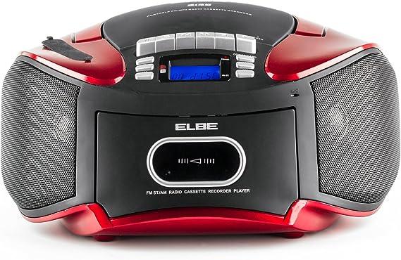 Elbe CDM-265-USB - Radiocasete con CD, MP3, USB y SD, mando a ...