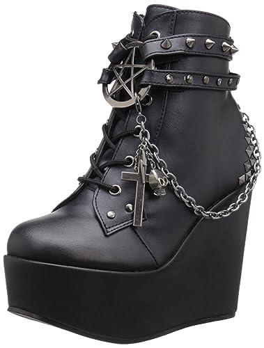 Demonia Poison 101 Ankle Boot (Women's) 2OHTwl1xLw