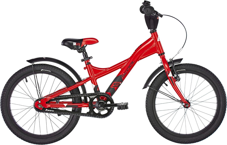 S.Cool Xxlite 18 - Bicicleta Infantil, Infantil, XXlite 18, Red/Black Matt: Amazon.es: Deportes y aire libre