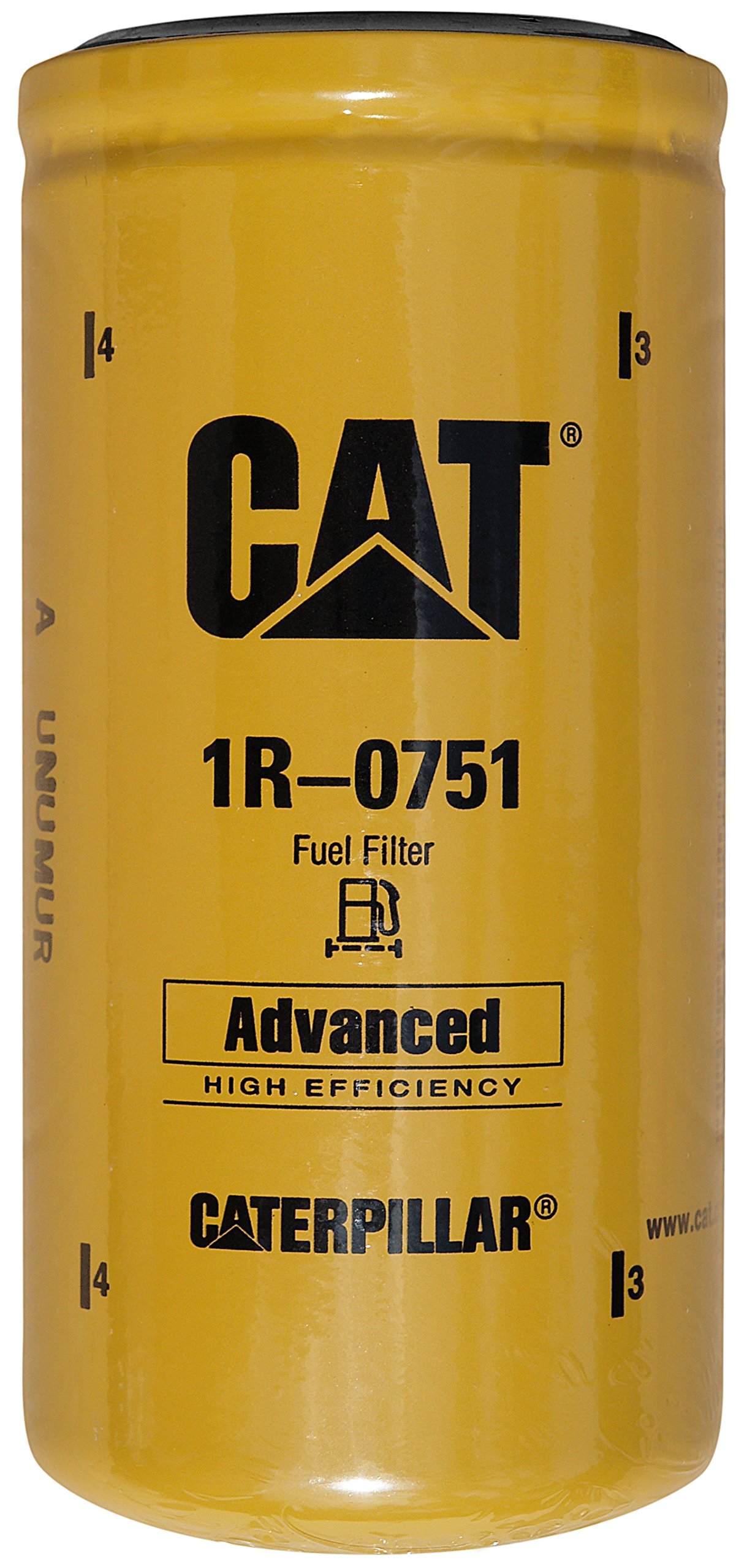 Caterpillar 1R-0751 Advanced High Efficiency Fuel Filter Multipack (Pack of 4)
