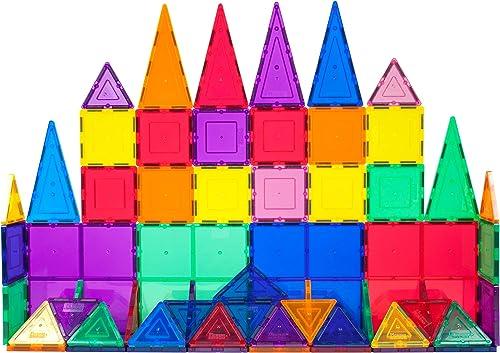 PicassoTiles 60 Piece Set Magnet Building Tiles