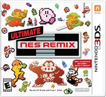 Ultimate NES Remix - Nintendo 3DS: 3DS: Computer and Video Games