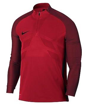 f55c9e08 Nike Performance Men's Football Shirt Long Sleeve Aeroswift Strike Football  Drill Top, rot (500