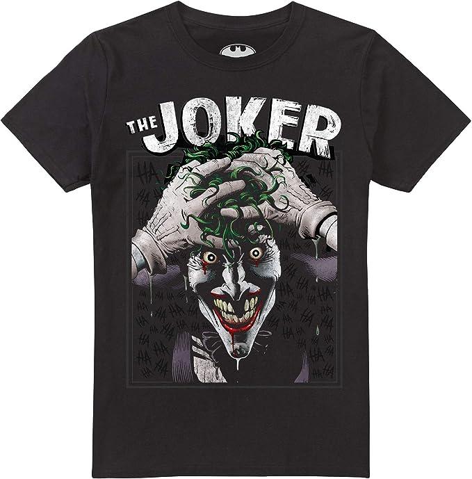 Camiseta Joker DC Comics Crazed para Hombre