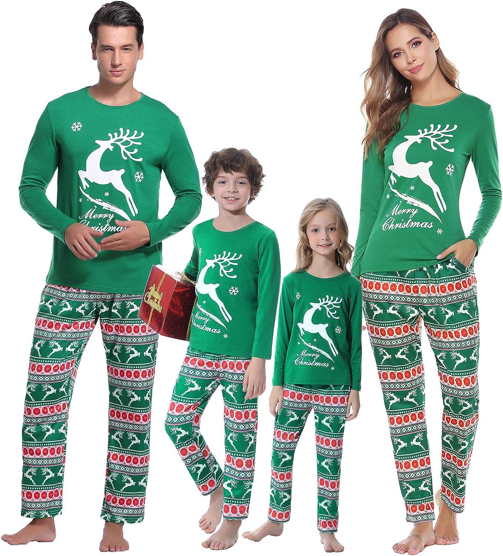 iClosam Family Matching Pajamas Set Casual Pajamas Holiday Pjs for Women//Men//Boys//Girls