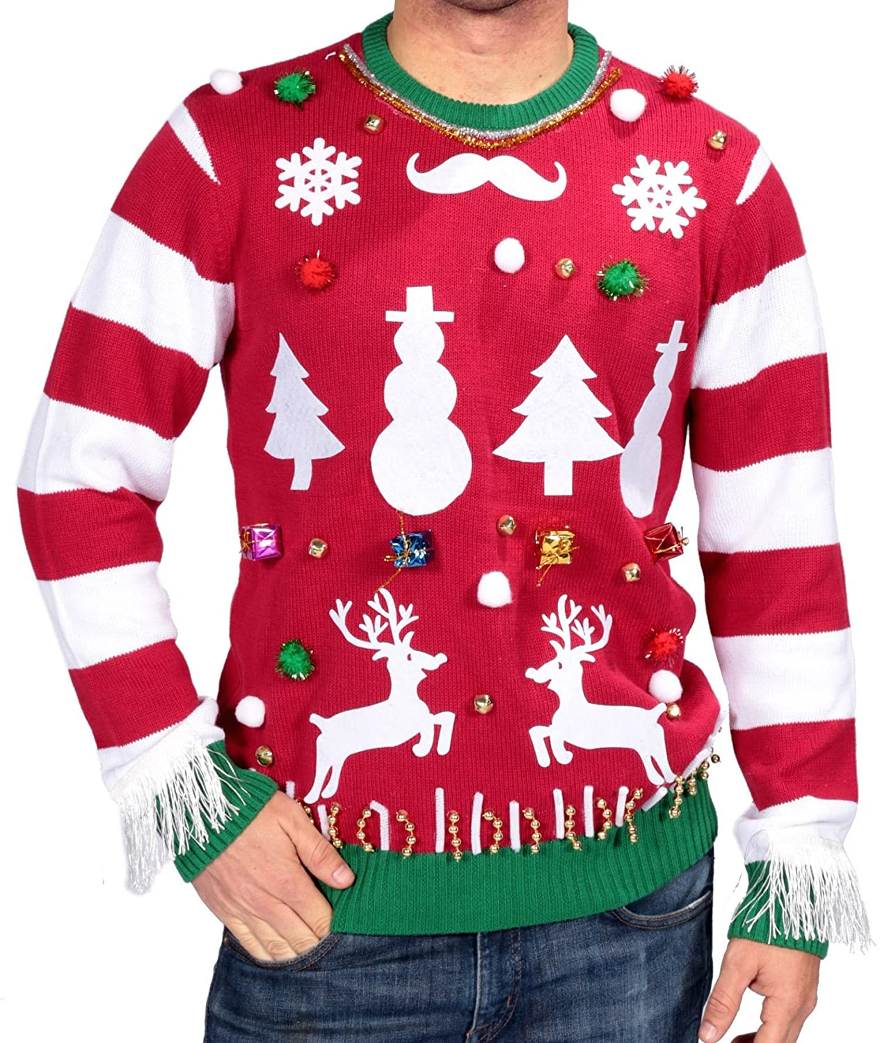 Amazon michael gerald ltd ugly christmas sweater kit clothing solutioingenieria Image collections