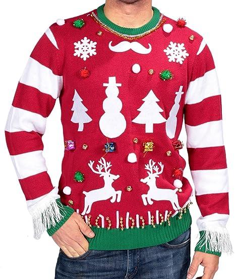 Amazon Com Michael Gerald Ltd Ugly Christmas Sweater Kit Clothing