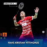 Victor Thruster K F Power Series G5 Unstrung Badminton Racket (Blue/Black) (Used by HANS-Kristan VITTINGHUS)