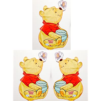 "Winnie The Pooh Party Supplies 16"" Mini Foil Balloon (Pack of 3): Toys & Games"