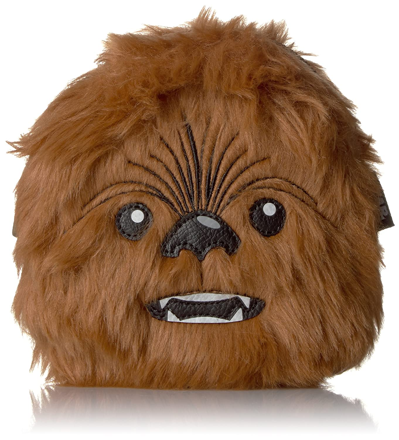 Loungefly Women's Star Wars Chewbacca Bag Coin Purse, Brown, One Size STCB0060