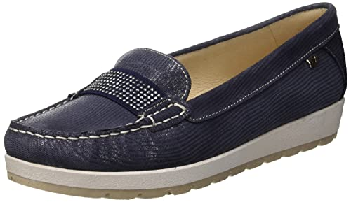 loafer Valleverde Donna Blu Eu 18ee Amazon Scarpa Mocassini 36 HwwqZO