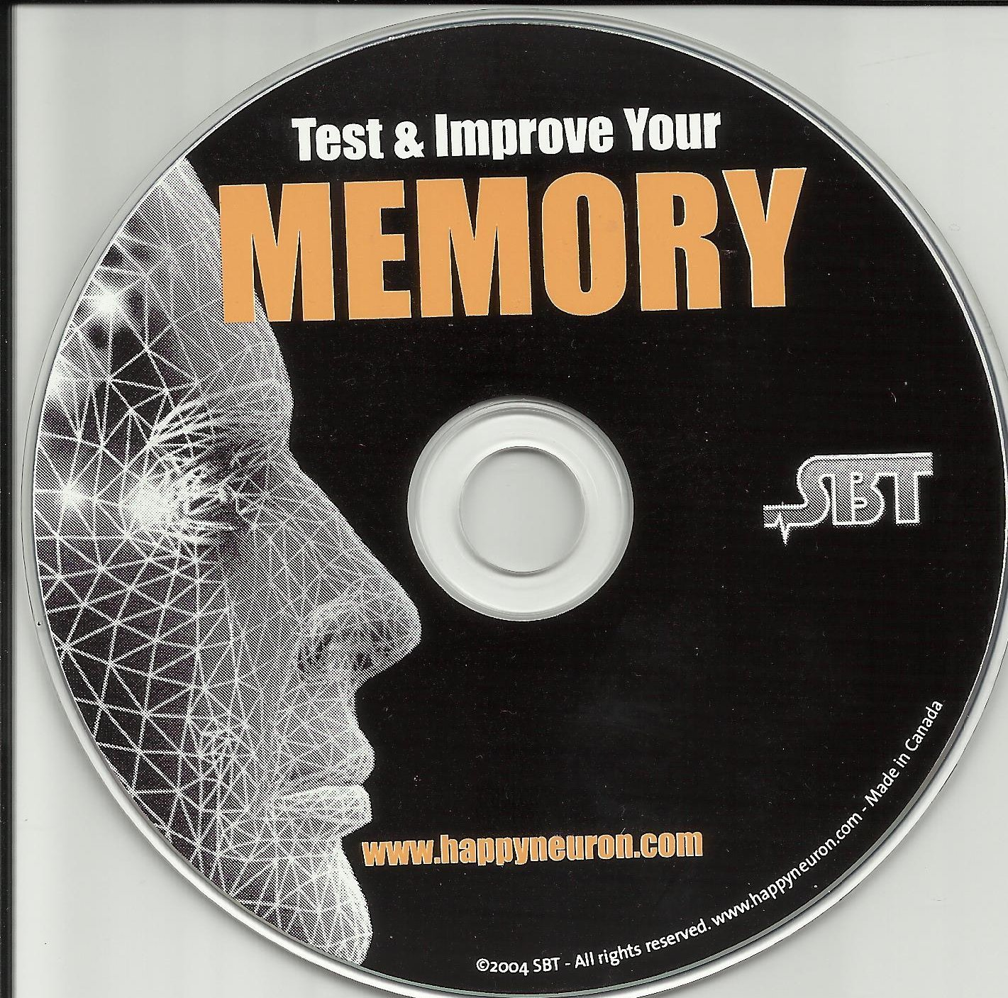 scientific brain training brain fitness cd rom pc