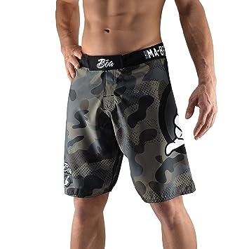 ba1d5651c5ac1 Bõa ma-8r Camo MMA Fight Shorts, Mens, MA-8R CAMO, gray, FR : S ...