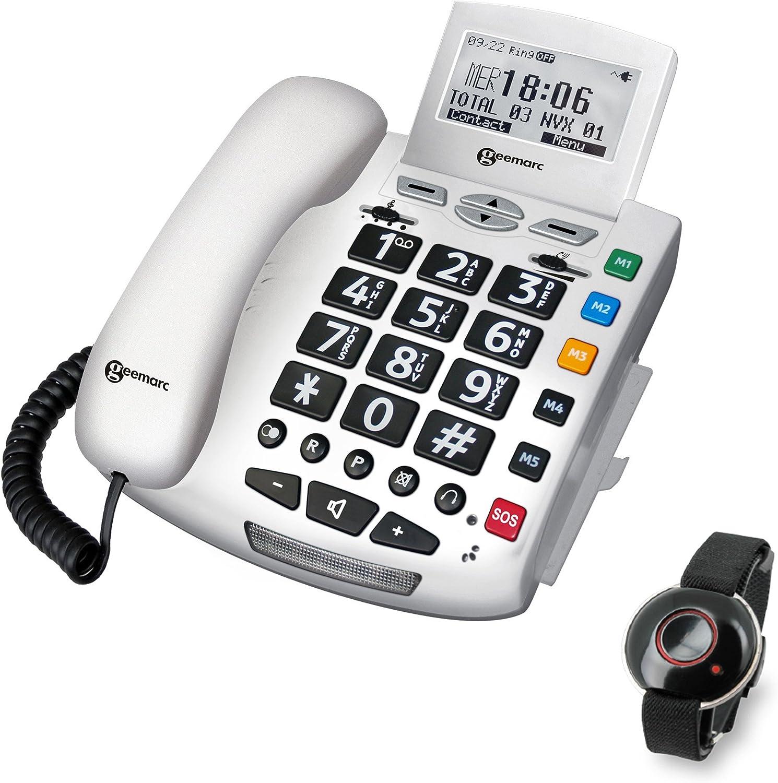 Geemarc Serenities Notfallschutztelefon Mit Notsender Elektronik