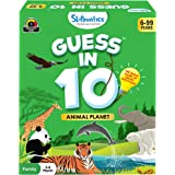 Skillmatics Guess in 10 Animal Planet - Card Game of Smart Questions for Kids & Families | Super Fun & General Knowledge for