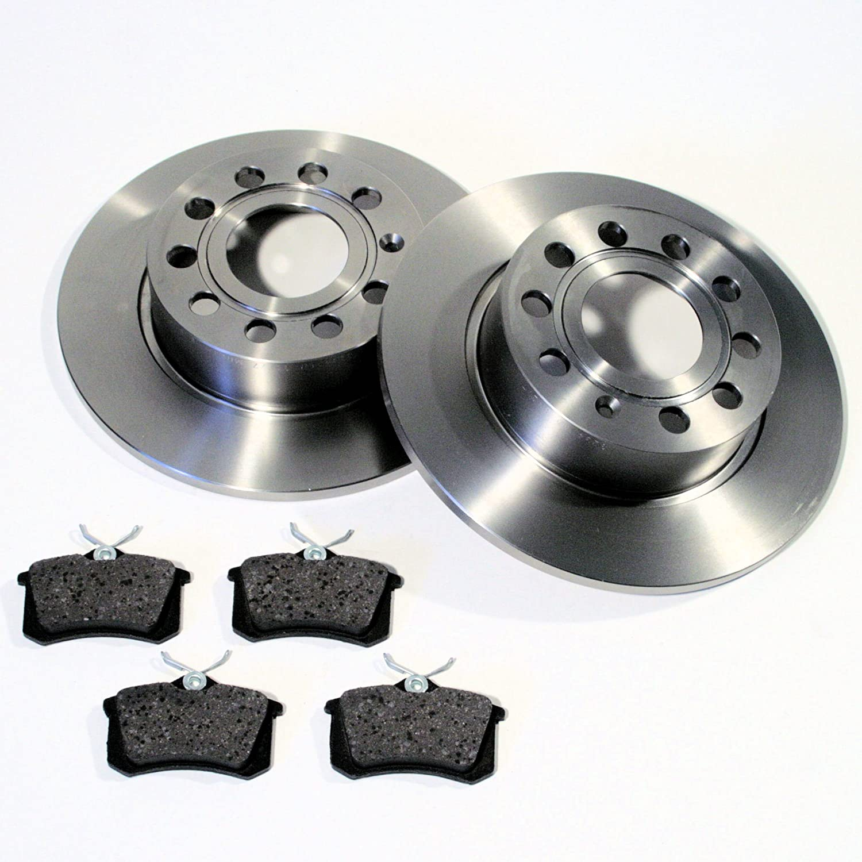 Bremsscheiben/Bremsen + Belä ge hinten Autoparts-Online
