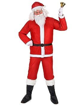 Disfraz de Papá Noel para adulto M / L: Amazon.es: Juguetes y juegos