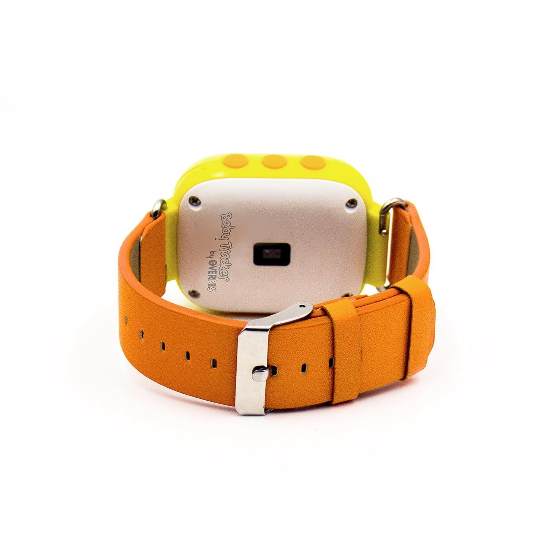 RELOJ TRACKER BABY ORANGE GPS POSICIONAMIENTO: Amazon.es ...