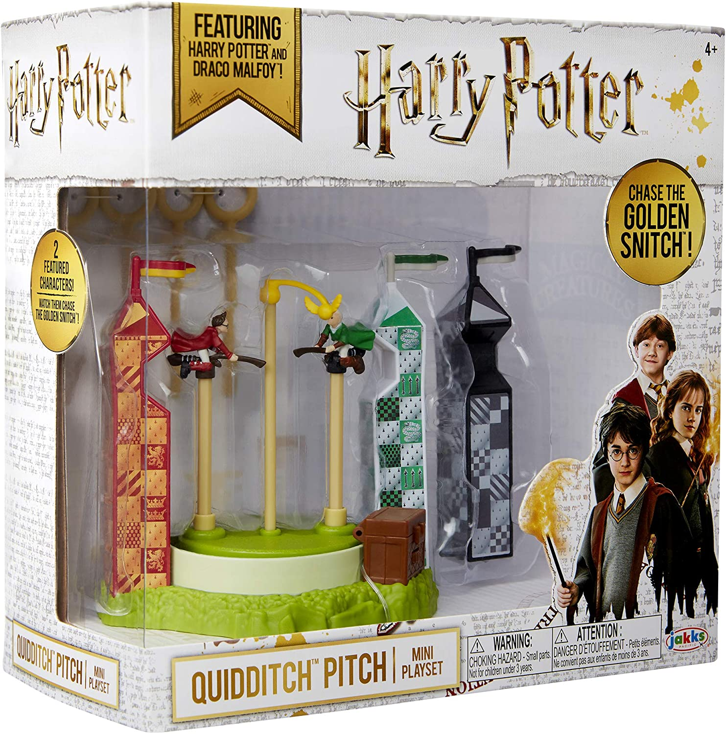 HARRY POTTER QUIDDITCH PITCH ARENA MINI PLAYSET CHASE THE SNITCH BRAND NEW