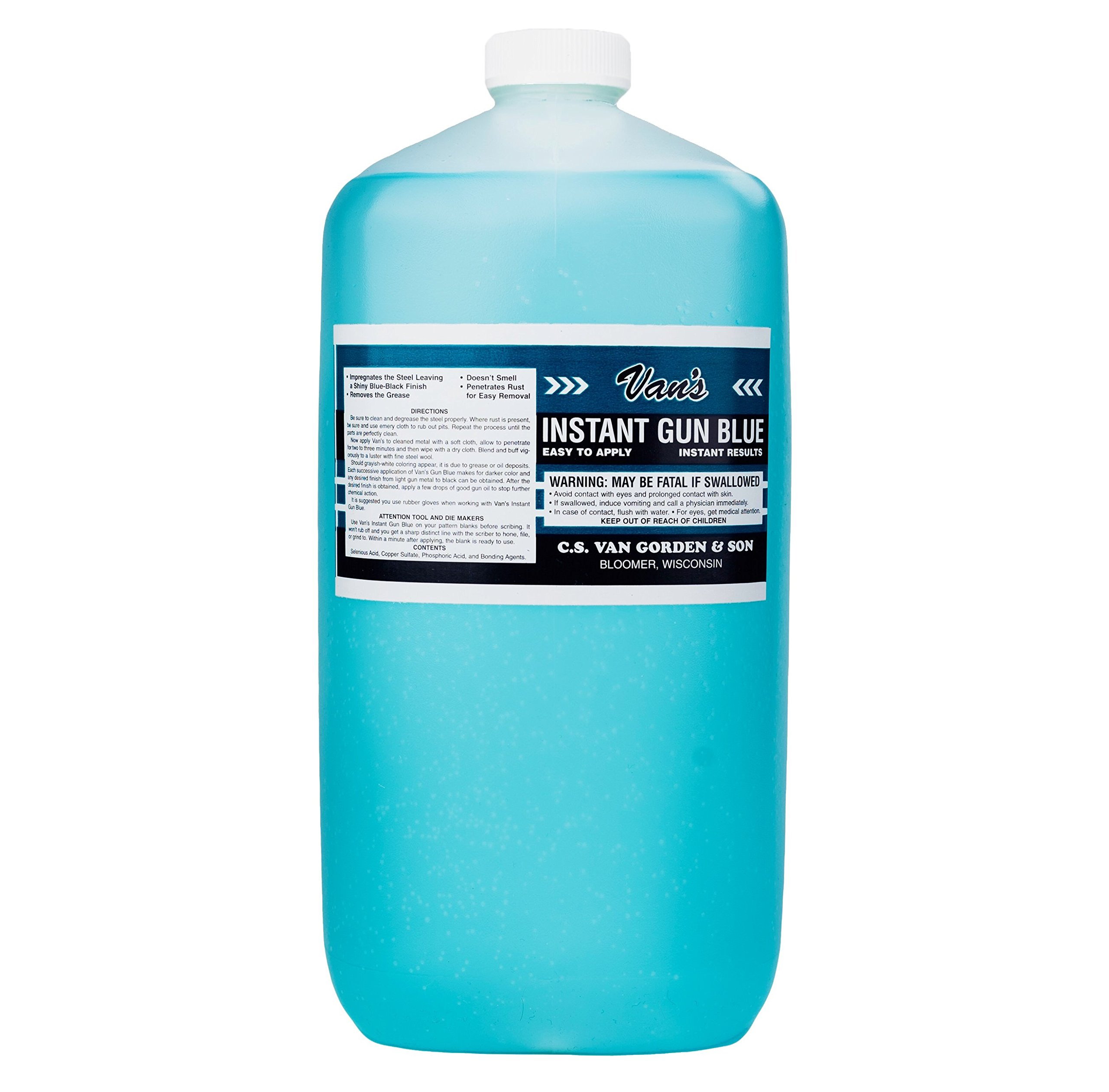 Van's Gun Blue Gallon by Van's Gun Blue