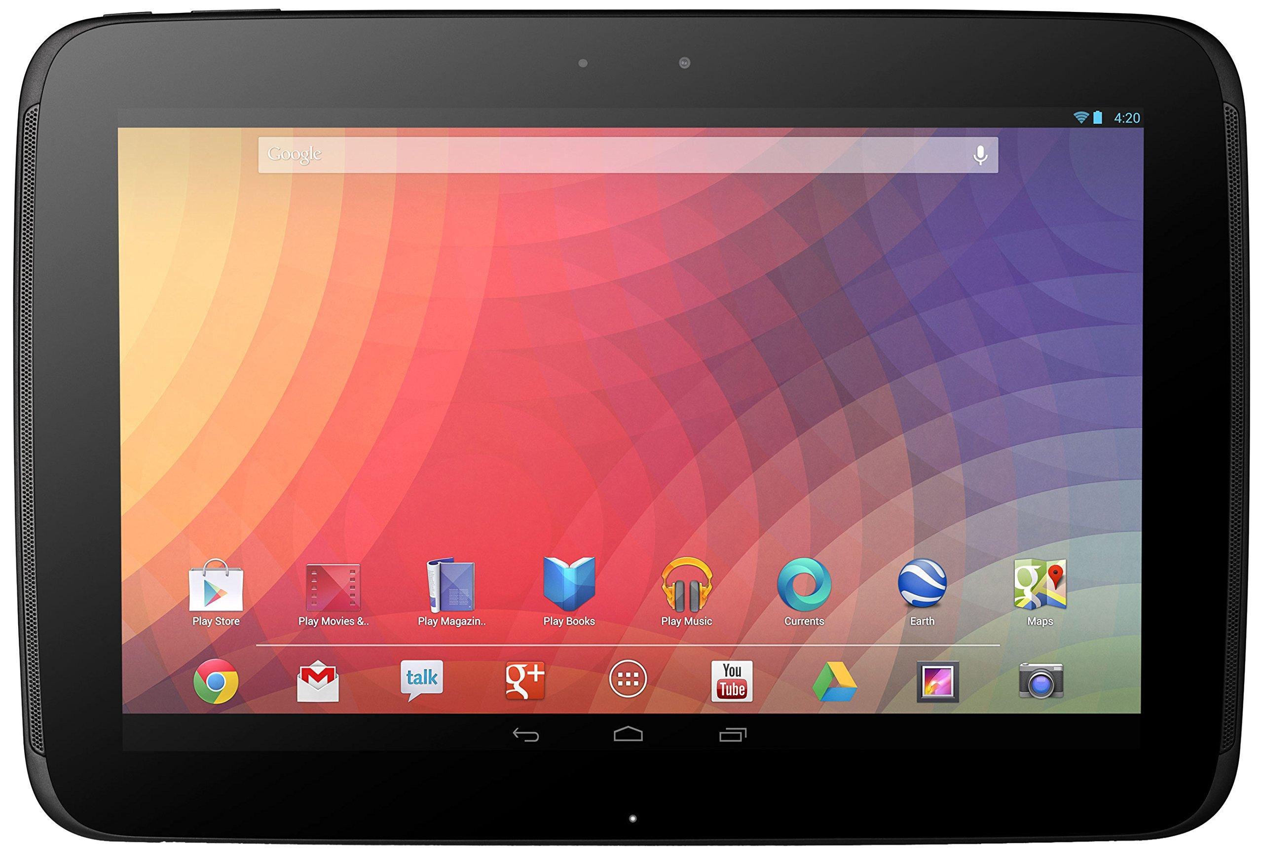 Google Nexus 10 (Wi-Fi only, 32 GB) by Samsung