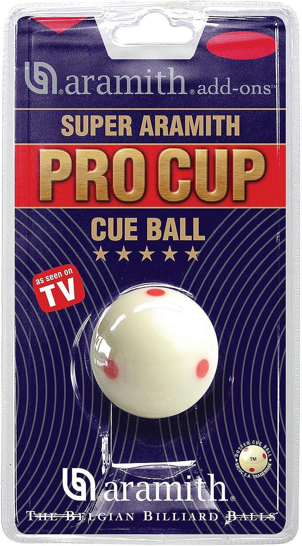 Aramith SPIELBALL Pro Cup Blanc 52 mm M//P