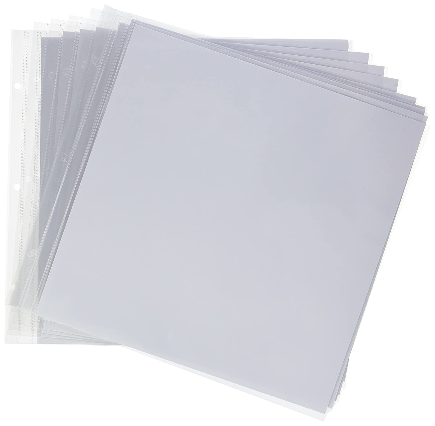 Artemio 305 X 305 Cm Plastic Sleeves With 3 Holes Photo Album