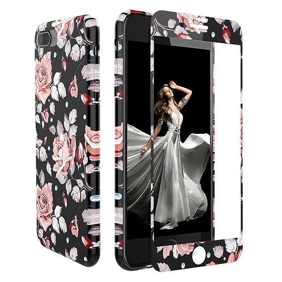 buy popular ed811 a8fb8 Amazon.com: iPhone 7 Plus/iPhone 8 Plus Case Screen Protector,ZXK CO ...