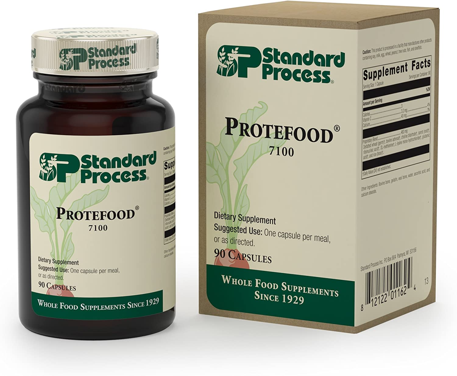 Standard Process – Protefood – 90 Capsules