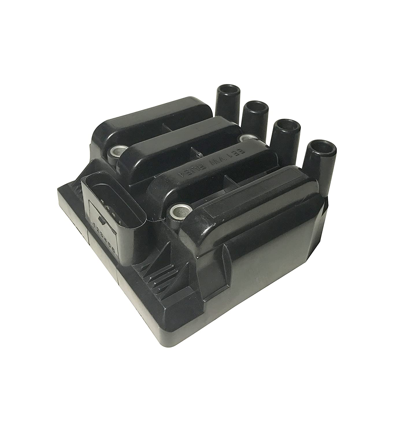 Ignition Coil Pack - Volkswagen Golf, Jetta, Beetle 2.0L Vehicles - Replaces Part# 06A905097A - 2001, 2002, 2003, 2004, 2005 Models - 2001 Volkswagen Jetta Coil Pack, Golf 2.0 and More Image