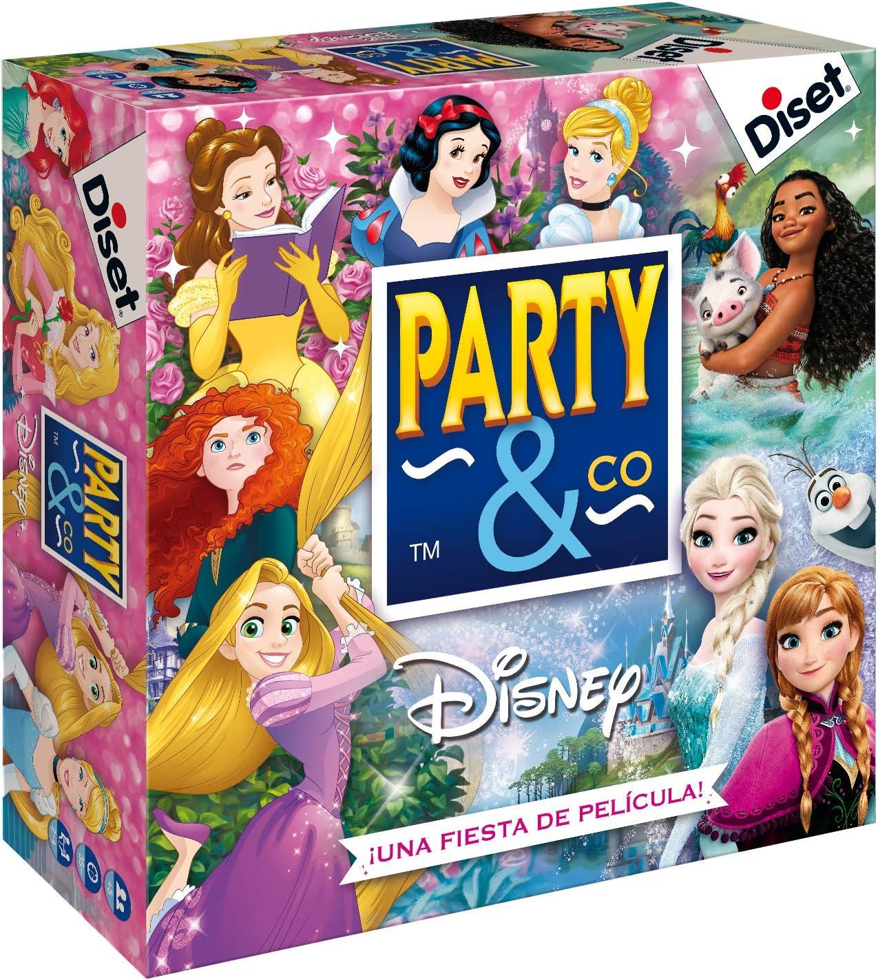 Diset - Party & Co Disney princesas (46506)