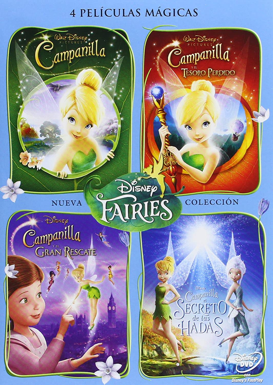 Colección Campanilla 1-4 [DVD]: Amazon.es: Personajes Animados ...