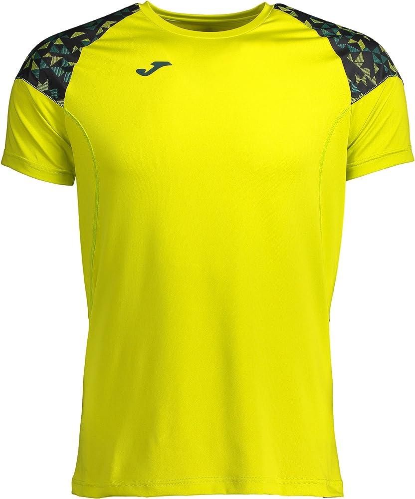 Joma Hybrid II Camiseta, Hombre, Verde, 2XL: Amazon.es: Ropa y ...
