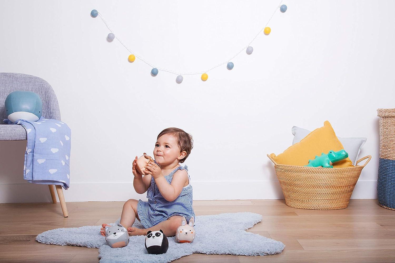 Set de quatre balles doudous Baby-to-Love Balles Doudous