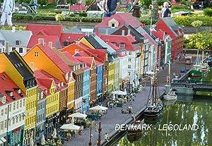 Denmark Danish Fridge Refrigerator Magnets (3 Piece, Style: Legoland #DEN17)