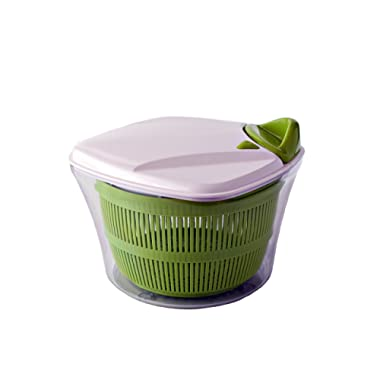 Paderno World Cuisine Manual Salad Spinner