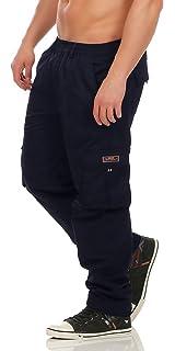 9e20131b7381 Fashion Herren Cargo Hose mit Dehnbund warm gefütterte Thermohose - mehrere  Farben ID529