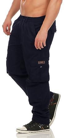 Fashion Herren Cargo Hose mit Dehnbund warm gefütterte Thermohose - mehrere  Farben ID529  Amazon.de  Bekleidung 9ba89492a8