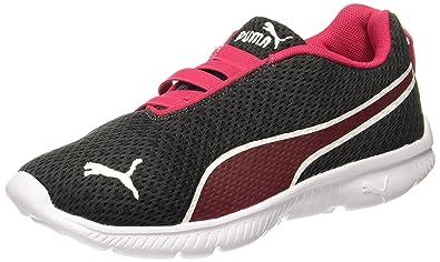 Puma Women s Fashin Alt Filtered IDP Puma Black-Love Potion Sneakers - 3 UK  a331a0e574