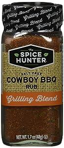 The Spice Hunter Rub, Cowboy Rub, Blend, 1.7-Ounce Jar