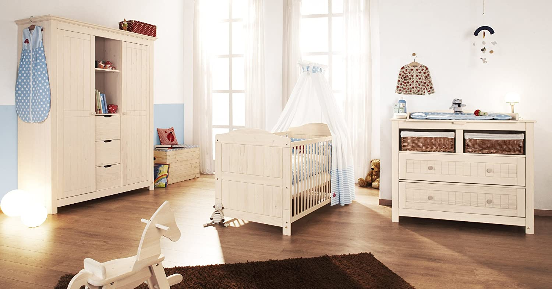Pinolino 101633BG - Finja Kinderzimmer groß, 3-teilig mit ...