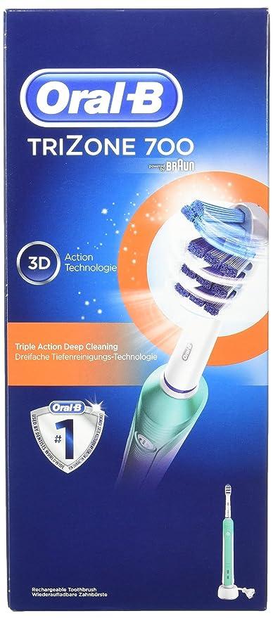 Oral-B TriZone 700 - Cepillo de dientes eléctrico (Batería, Integrado, 1