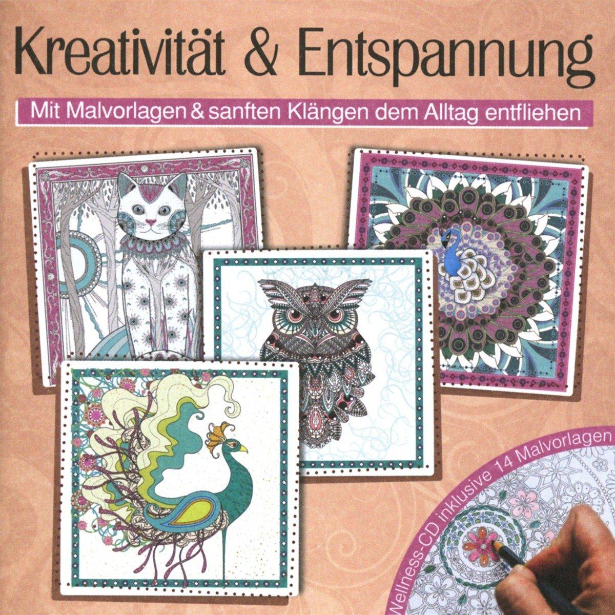 Kreativität & Entspannung-mit Malvorlagen - Various: Amazon.de: Musik
