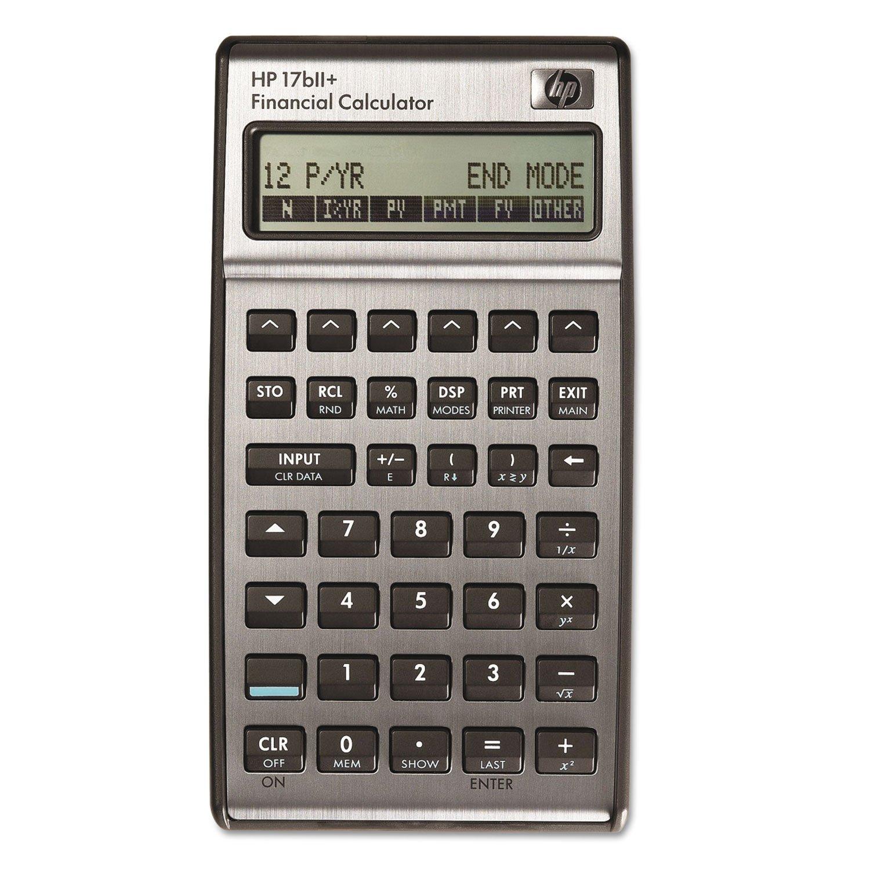 Amazon HP 17bII Financial Calculator F2234A Electronics – Financial Calculator