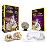 Crack Open 2 Geodes and Explore Crystals with National Geographic