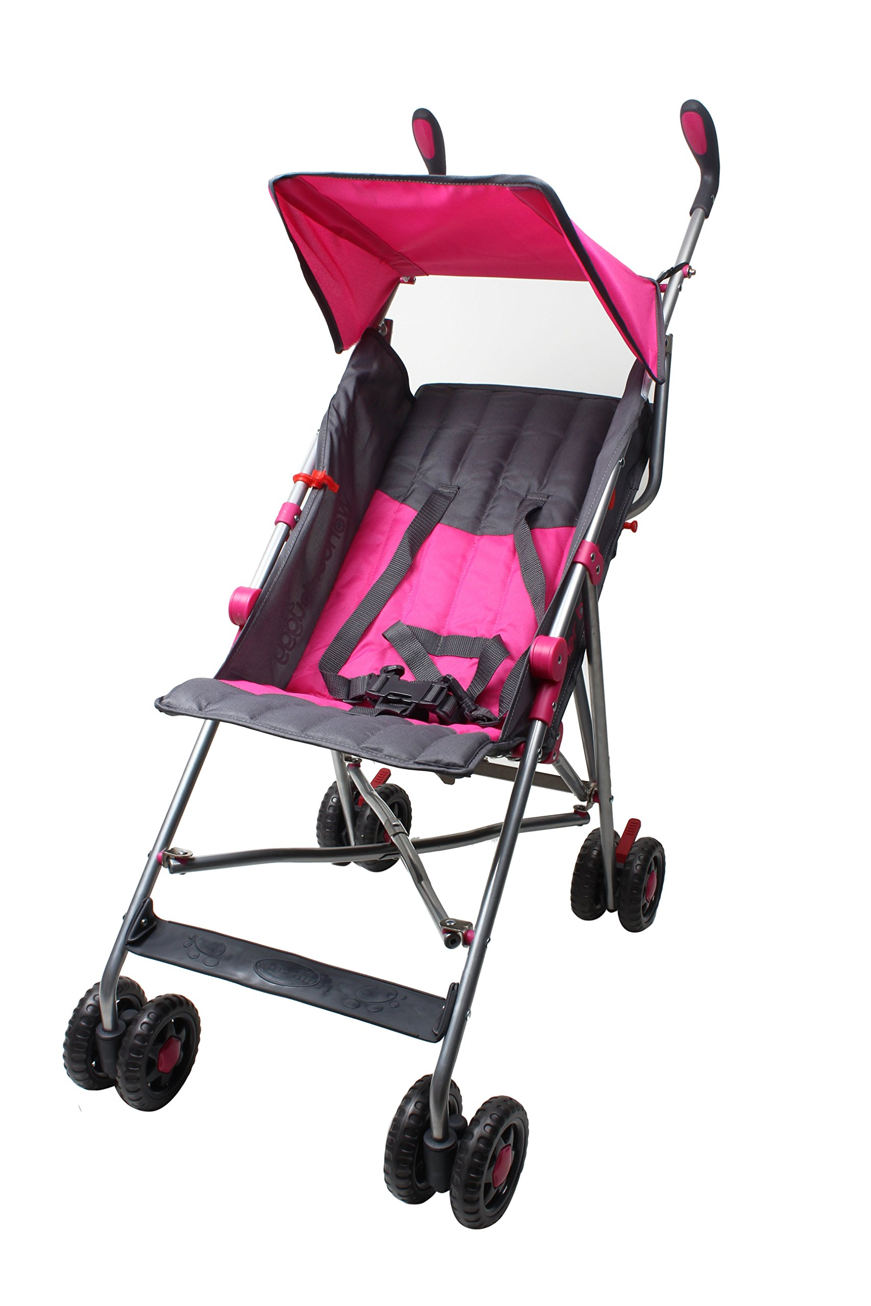 Wonder Buggy Taylor Two Position Stroller With Canopy (Pink)