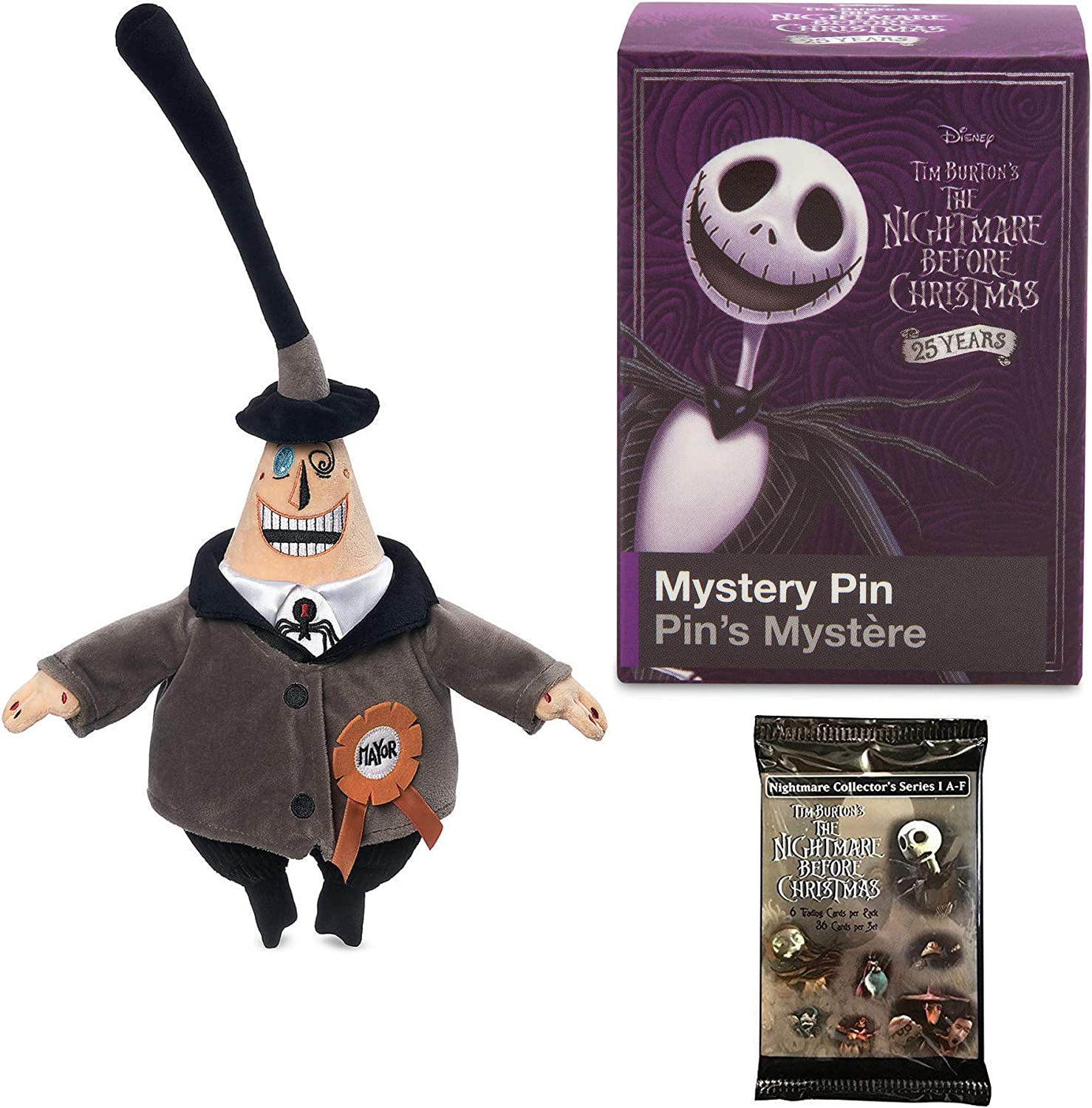 Funko Mystery Mini Figures 1 BLIND BOX Nightmare Before Christmas 25 Years