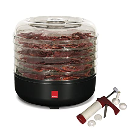 Amazon Ronco 5 Tray Beef Jerky Machine With Kit Kitchen Dining